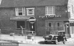 Ilminster, Fish & Chip Café c.1955