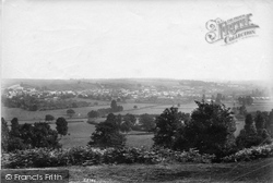 Ilminster, From Hern Hill 1907