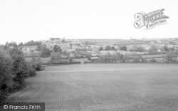 Ilminster, From Herne Hill c.1960