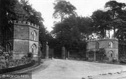 Ilminster, Lodge Gate, Dillington Park 1907