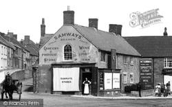 Ilminster, Samways Store, West Street 1907