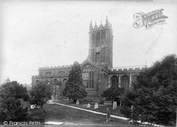 Ilminster, St Mary's Church South Side 1907