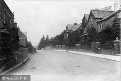 Ilminster, Station Road 1907