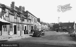 Ilminster, The Crown Hotel And Triangle c.1950