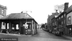 Ilminster, The Market Place c.1955