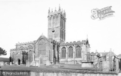 Ilminster, The Minster c.1955