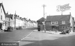Ilminster, Triangle And High Street c.1955