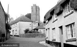 The Village And St Michael's Church c.1960, Ilsington