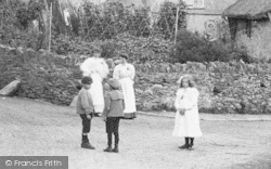 Ilsington, The Village, Children 1906