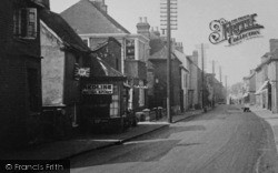 Garage On The High Street 1925, Ingatestone