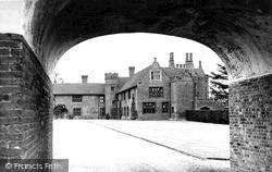 The Hall, Gateway And Courtyard c.1955, Ingatestone
