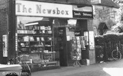 Ingatestone, The Newsbox Newsagent c.1960