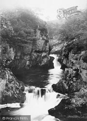 Ingleton, Baxenghyll Foss 1887