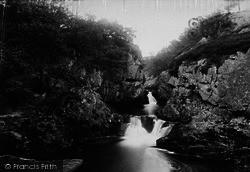Ingleton, Baxenghyll Foss 1890