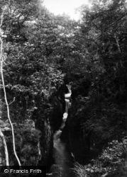 Ingleton, Baxenghyll Gorge 1890