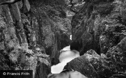 Ingleton, Baxenghyll Gorge 1929