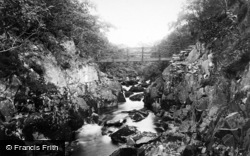 Ingleton, Beezley Glen And Bridge 1890