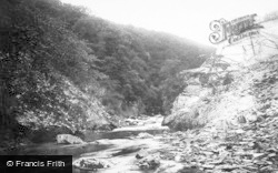 Ingleton, Beezley Glen And River Greta 1890