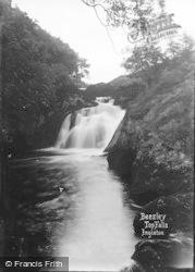 Ingleton, Beezley Top Falls c.1920