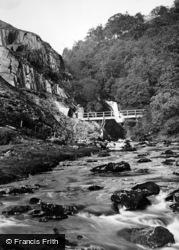Ingleton, First Pecca Falls 1926