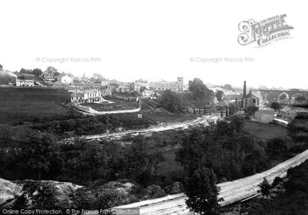 Ingleton, from north side 1890