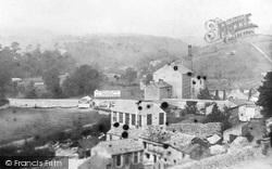 Ingleton, From Station 1890