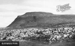 Ingleton, Ingleborough c.1960