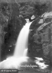 Ingleton, Pecca Falls c.1920