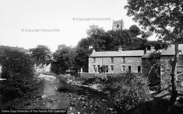 Photo of Ingleton, River View 1926