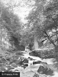 Ingleton, Swilla Glen And Steps 1926