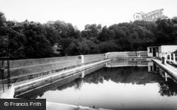 Ingleton, Swimming Pool c.1960