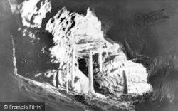 Ingleton, The Grotto, White Scar Cave c.1955