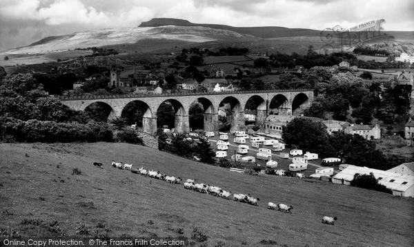 Ingleton, the Railway Viaduct c1960