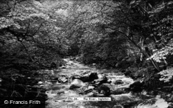 Ingleton, The River c.1955