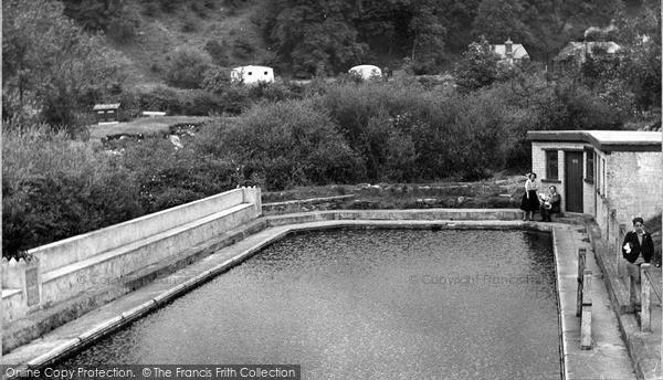 Photo of Ingleton, the Swimming Pool c1955