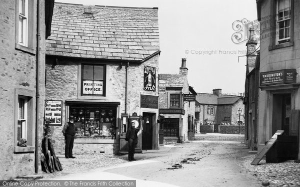 Photo of Ingleton, The Village 1890
