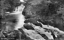 Ingleton, Triple Spout And Beezley Falls 1926