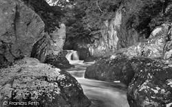 Ingleton, Yew Tree Gorge 1926