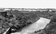 Ingoldmells, Caravan Camp and Creek c1955