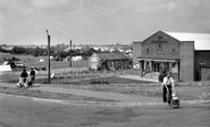 Ingoldmells, Marina Cinema and Camp Site, Sea Lane c1958