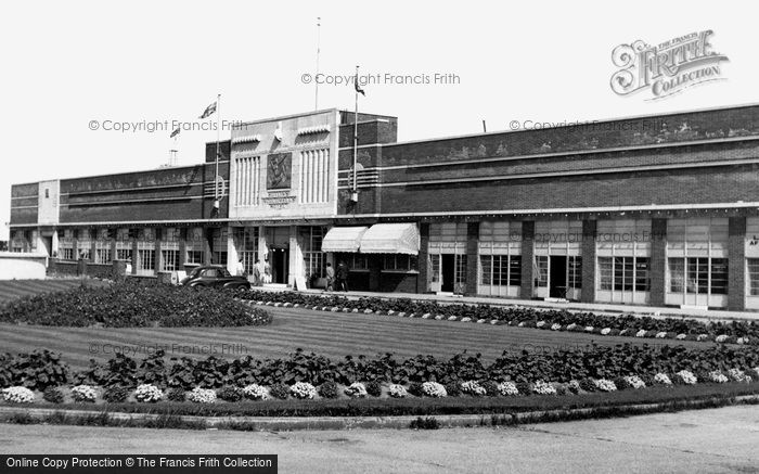 Photo of Ingoldmells, The Hotel, Butlin's Holiday Camp c.1955