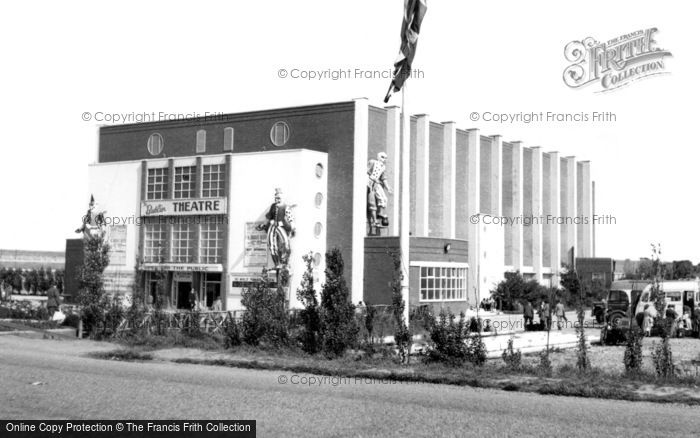 Photo of Ingoldmells, The Theatre, Butlin's Holiday Camp c.1955