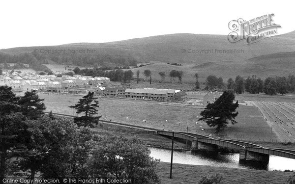 Photo of Innerleithen, general view c1955, ref. i43002