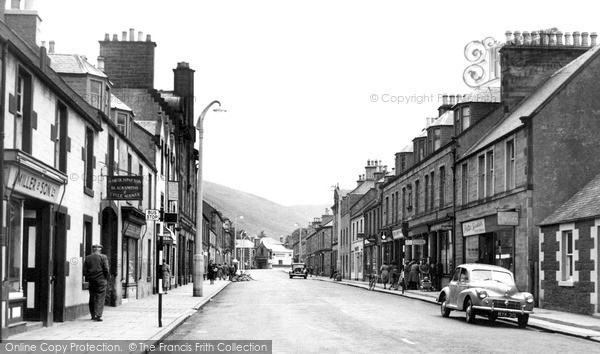 Photo of Innerleithen, High Street c1955, ref. i43001