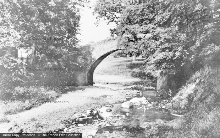 Photo of Innerleithen, Old Roman Bridge c.1930