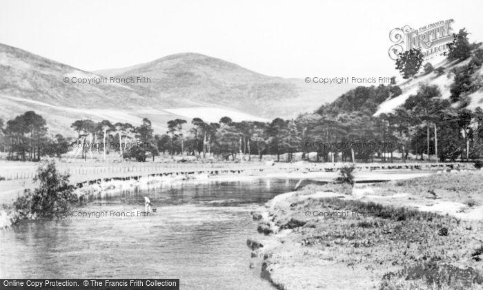 Photo of Innerleithen, River Tweed c.1930