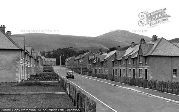 Photo of Innerleithen, Street Scene c.1955