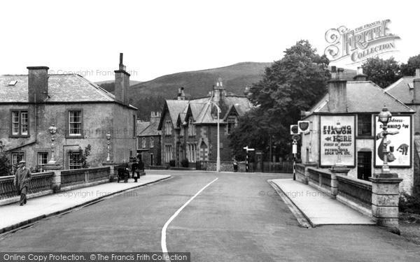Photo of Innerleithen, The Bridge c.1955