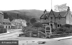 Innerleithen, War Memorial c.1955