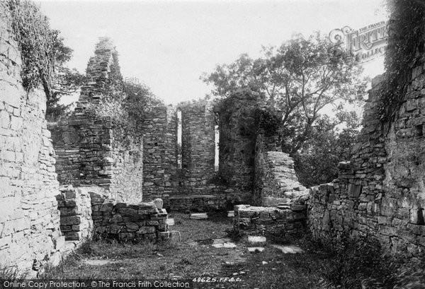 Photo of Innisfallen, Chapel Ruins Interior 1897